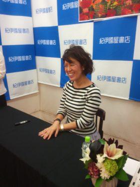 大草直子さん 東京・大阪でサイン会・トークショーを行いました!
