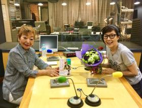石橋恵三子さんがニッポン放送「戸田恵子 オトナクオリティ」に出演しました!